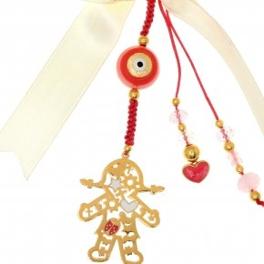 Silver Charm 925 gold plated - Genesis Charms