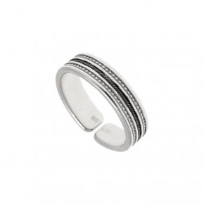 Ring Silver 925, rhodium plated - Apopsis