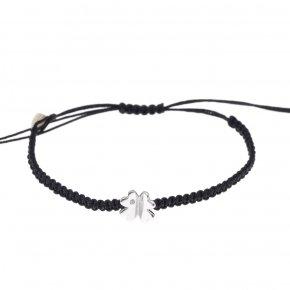 Bracelet gold 14 carats with diamonds - My Gold