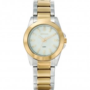 GREGIO Watch Mini Crystals Two Tone Stainless Steel Bracelet GR102051 - MiniW