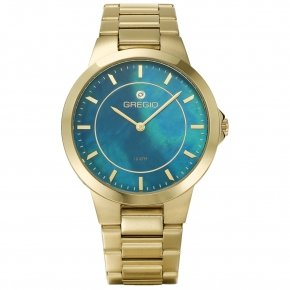 GREGIO Watch Devotion Mop Gold Stainless Steel Bracelet GR109021 - Devotion