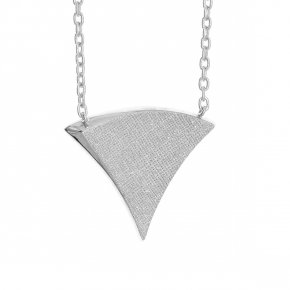 Necklace in silver 925, rhodium plated - Kyma