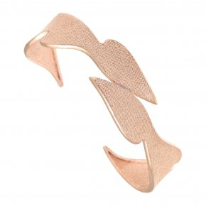 Bracelet in silver 925 pink gold plated - Kyma