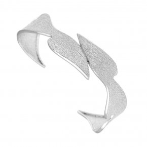 Bracelet in silver 925 rhodium plated - Kyma