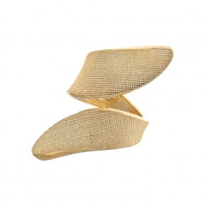 Ring Silver 925 gold plated - Kyma