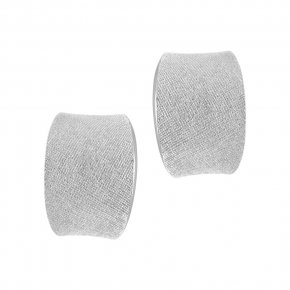 Earrings in silver 925 rhodium plated - Kyma