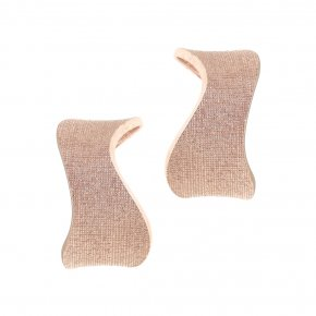 Earrings Silver 925 pink gold plated - Kyma
