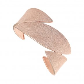Bracelet in silver 925 pink gold plated - Funky Metal