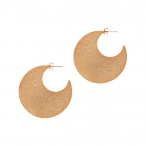 Earrings in silver 925 gold plated - Kyma