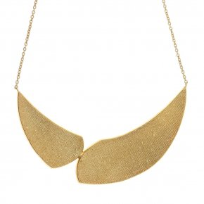Necklace in silver 925 gold plated - Kyma