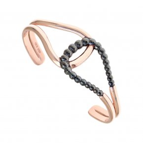 Bracelet in silver 925 pink gold plated - Echo