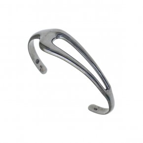 Bracelet in silver 925 black rhodium plated - Funky Metal