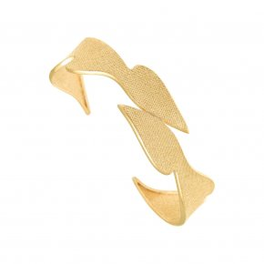Bracelet in silver 925 gold plated - Kyma