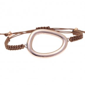 Bracelet out of metal pink gold plated - Armonia