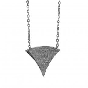 Necklace in silver 925, black rhodium plated - Kyma