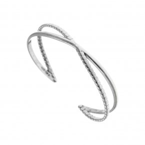 Bracelet in silver 925 rhodium plated - Echo