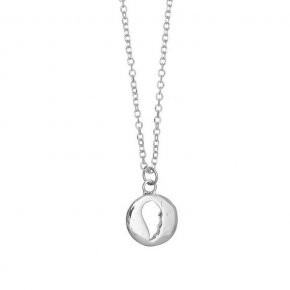Necklace in white gold 14 carats - ETERNAL
