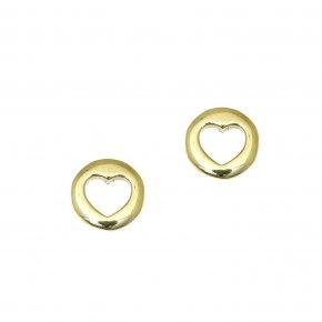 Earrings in gold 14 carats - ETERNAL
