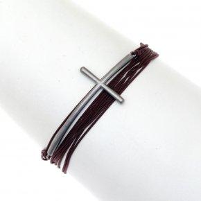 Bracelet silver 925 black rhodium plate - My Man