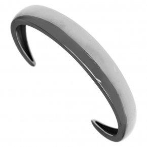Bracelet silver 925 black rhodium plate - Eva