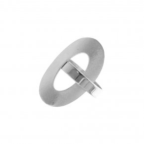 Ring silver 925 rodium plated - Nemessis