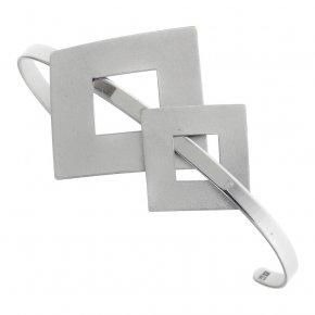 Bracelet silver 925 rodium plated - Nemessis