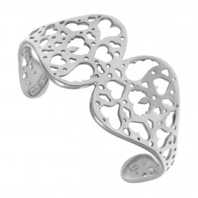 Bracelet silver 925 rhodium plated - Fos