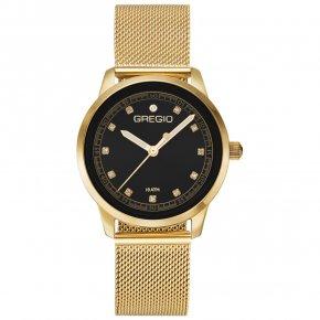 GREGIO Watch Handi Circlet Gold Stainless Steel Bracelet GR110023 - Handi Circlet