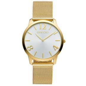 GREGIO Watch Simply Rose Milanese Gold Strap GR112020 - Simply Rose
