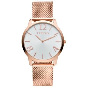 GREGIO Watch Simply Rose Milanese Rose Gold Strap GR112030 - Simply Rose