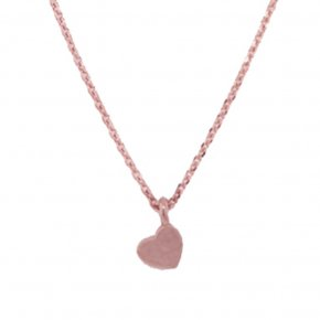Necklace silver 925 pink gold plated - Simply Me