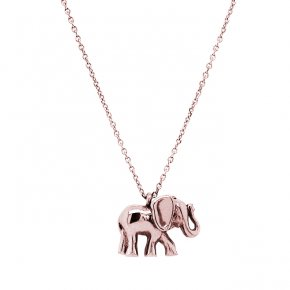 Necklace in silver 925 pink gold plated - Simply Me