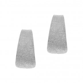 Earrings in silver 925 rhodium plated - Funky Metal