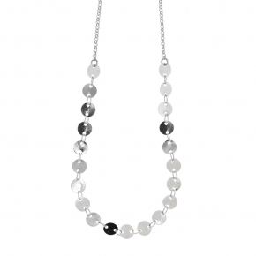 Necklace bronge rhodium plated - Simply Me
