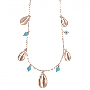 Necklace silver 925 rose gold plated - Color Me