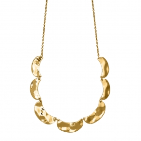 Necklace silver 925 gold plated - Funky Metal