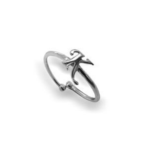 Ring silver 925 rhodium plated - Simply Me