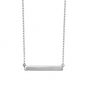 Necklace in silver 925 rhodium plated - WANNA GLOW