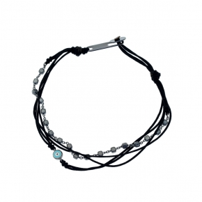 Bracelet silver 925 black rhodium plated - My Man