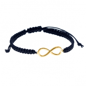 Bracelet gold 14 carats with cord - My Gold