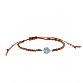 Bracelet gold 14 carats with Synthetic Stones - My Gold