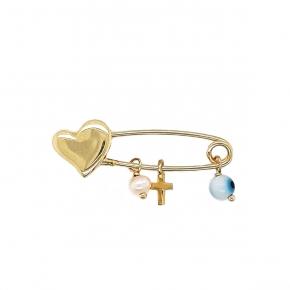 Baby pin gold 14 carats - My Gold
