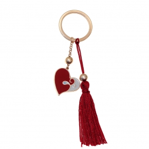 Key Chain - Lucky charm made of metal (pendant size 2.5 cm) - Wish Luck