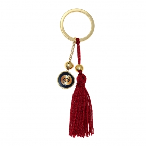 Key Chain - Lucky charm made of metal (pendant size 2 cm) - Wish Luck