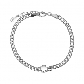 Bracelet silver 925 rhodium plated - WANNA GLOW