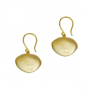 Earrings in silver 925 gold plated - Funky Metal
