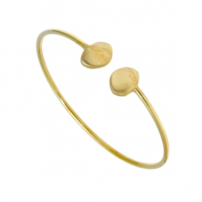 Bracelet silver 925 gold plated - Funky Metal