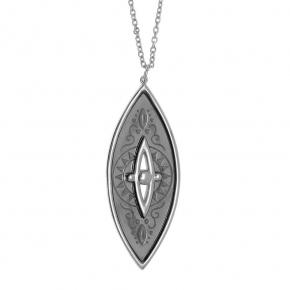 Necklase silver 925  black rhodium - Funky Metal