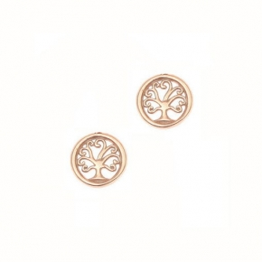 Earrings gold 14 carats - My Gold