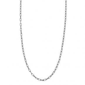 Necklace silver 925 rhodium plated - Funky Metal